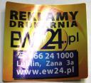 Naklejki odblaskowe www.ew24.pl/naklejki