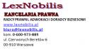 Obsługa prawna FIRM Radca - NOBILIS Warszawa i okolice
