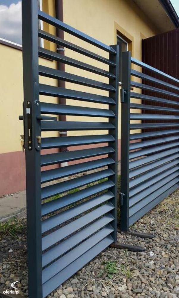 Tylko na zewnątrz Nowoczesne ogrodzenia - Silesia Fence Zabrze i okolice • Oferia.pl CO37