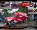 Oklejanie samochodu dla Coca-Cola