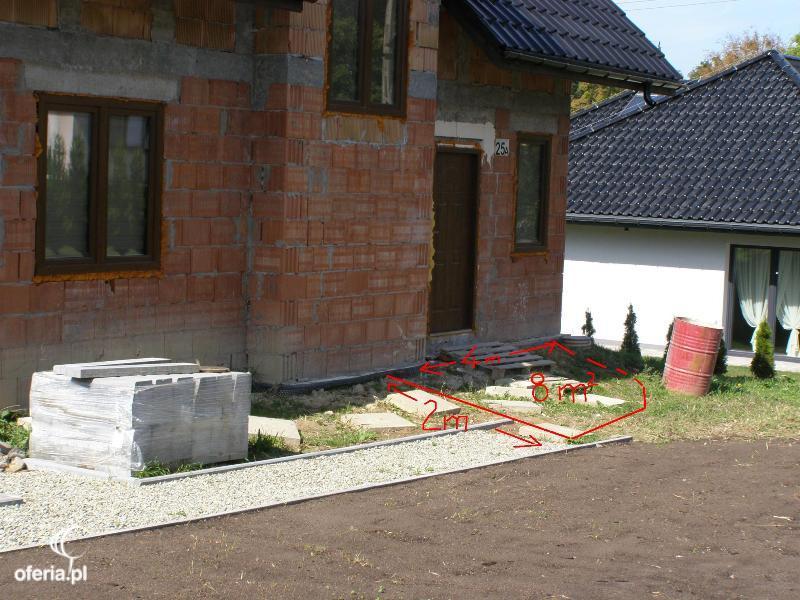 Zlecę wykonanie kostki brukowej. Taras oraz schody. Jarząbkowice • Zlecenia Oferia.pl