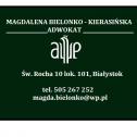 Adwokat Białystok - Kancelaria Adwokacka adw. Magdalena Bielonko - Kierasińska  Białystok i okolice