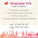 Tłumaczymy na 100% - Biuro Tłumaczeń Language Link Kraków i okolice