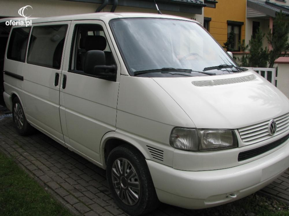 wynajem bus multivan transporter caravelle vw t4. Black Bedroom Furniture Sets. Home Design Ideas