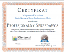 Certyfikat Profesjonalnego Sprzedawcy