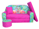 sofa dziecięca flamingi