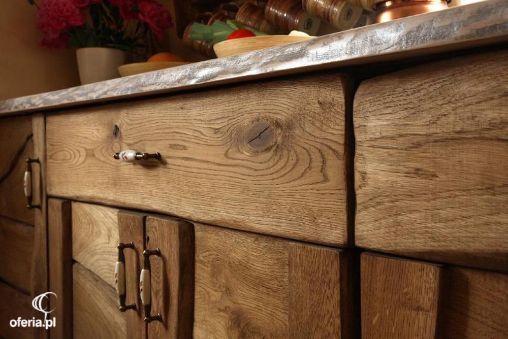 Meble Kuchenne Rustykalne Drewniane Kowary Oferia Pl