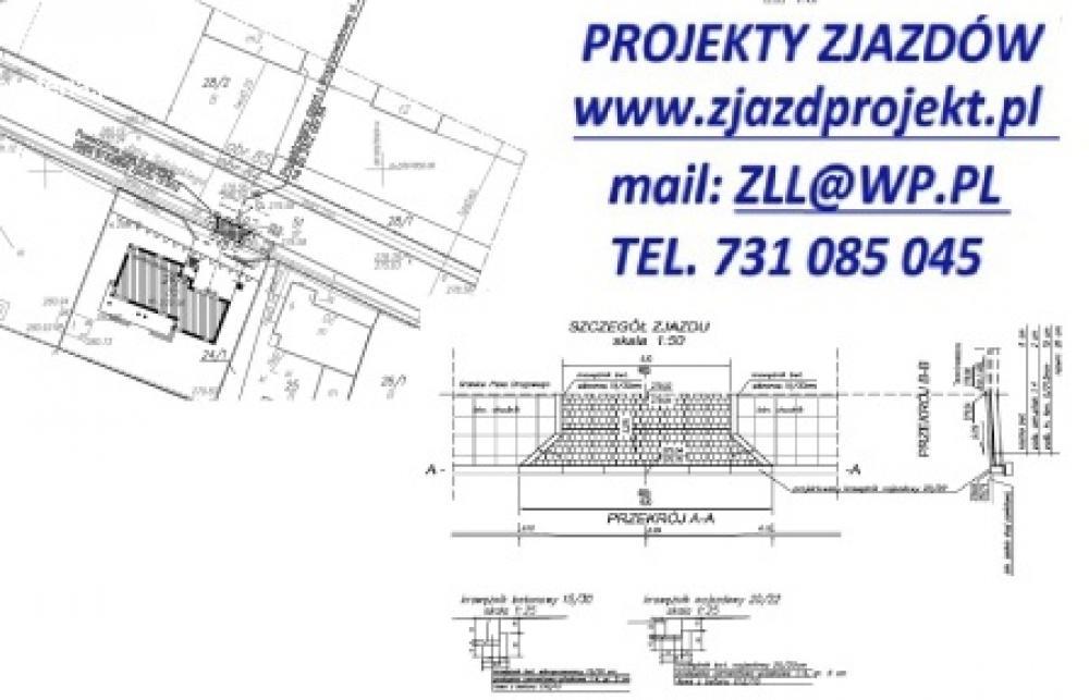 Ekstremalne Projekt zjazdu, wjazdu, parkingu, chodnika • Oferia.pl @TC-34