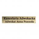 Kancelaria Adwokacka Adwokat Anna Pszczoła Lublin i okolice