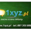 Mocna strona reklamy 1XYZ - E-S-G Sp. z o.o. WARSZAWA i okolice