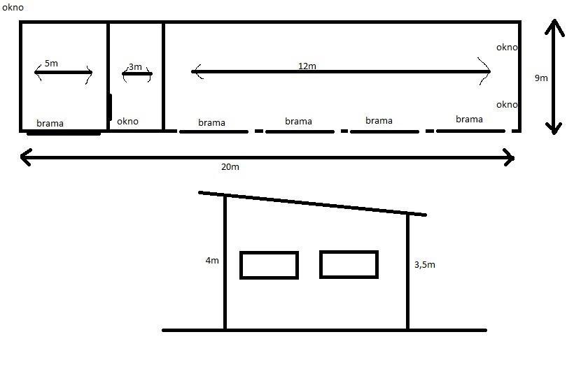 Chwalebne Budowa garażu 20x9 z płyt betonowych Piątek • Zlecenia Oferia.pl MM32