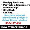 Kredyty i pożyczki - STAR FINANCE POLSKA SP Z O O Kielce i okolice