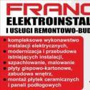 Remonty Duże i Małe - Eletroinstalacjei usługi ogólnobudowlane FRANCO Franciszek Silbernagel Śrem i okolice