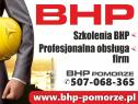 Usługi BHP Pomorze - Łukasz Kowalewski Gdańsk, Pruszcz Gdański,Tczew, Woj.pomorskie i okolice