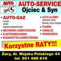 Firma działa od 1983 roku - Auto-Service Ojciec & Syn Żary i okolice