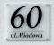 Tabliczka Adresowa -Litery 3d- TABLICA NUMER DOMU