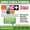 TV SAT anteny 501987666 - Montaż Anten TV SAT 501987666 Sława i okolice